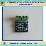 1x HG7881 Full-Bridge Dual DC motor Stepper motor drive module