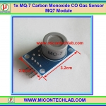 1x MQ-7 Carbon Monoxide CO Gas Sensor MQ7 Module