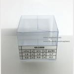กล่องเทียนหอม ขนาด 4.6 x 4.6 x 4.2 cm