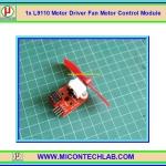 1x L9110 Motor Driver Fan Motor Control Module