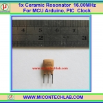1x Ceramic Rosonator Crystal 16.00MHz For MCU Arduino PIC Clock