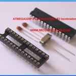 1x MiconKit: ATMEGA328P-PU Arduino UNO R3 bootloader chip + KIT