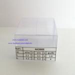 กล่องคัพเค้ก มาการอง 5.3 x 5.3 x 4 cm