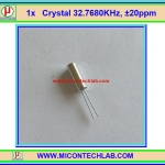 1x Crystal 32.768 KHz 3x8mm +/-20ppm 12.5pF