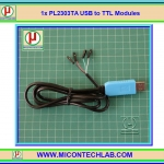 1x New PL2303TA USB to TTL Module Support All XP Vista 7, 8, 8.1,10 OS