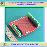 1x Arduino UNO R3 Leonardo PCB Screw Shield V1 Expansion Adapter Module