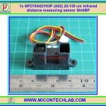1x GP2Y0A02YK0F (A02) 20-150 cm Infrared distance measuring sensor SHARP