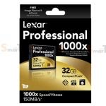 Memory CF Lexar Professional 32GB 1000X