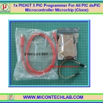 1x PICKIT 3 PIC Programmer For All PIC dsPIC Microcontroller