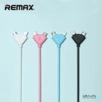 ราคาพิเศษ Remax Souffle RC-031t สายชาร์จ หัวเสียบแบบ 2 in 1 iphone5,5s,6,6p ipad Mirco แข็งแรง ทนทาน ใช้งานง่าย