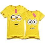 เสื้อคู่รัก ลายน่ารัก พร้อมส่ง CS 0158 YELLOW