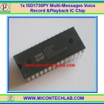 1x ISD1730 Multi-Messages Voice Record & Playback ISD1730PY IC Chips