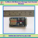 1x Micro SD Card Memory Card Socket Adapter Module