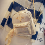 กระเป๋าเป้เล็ก สี Gold