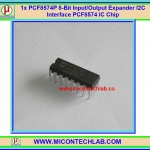 1x PCF8574P 8-Bit Input/Output Expander I2C Interface PCF8574 IC Chip