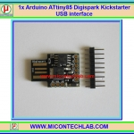 1x แผงวงจร Arduino ATtiny85 Digispark Kickstarter USB interface