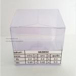 กล่องเทียนหอม ขนาด 5.65 x 5.65 x 5.3 cm