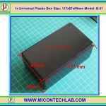 1x Model: B-01 Plastic Box Size:117x67x50mm