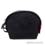 กระเป๋าคล้องมือผ้าลิง สีดำ