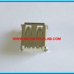 1x USB Female Type-A 4 Pins Socket (PTH)