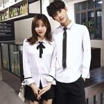 เสื้อคู่ เสื้อคู่รัก ชุดคู่รัก เสื้อคู่รักเกาหลี เสื้อคู่แฟชั่น AA007
