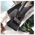 กระเป๋าถือ + สะพายข้าง HERMES mini style ดำ