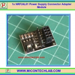 1x NRF24L01 Power Supply Connector Adapter Module