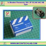 1x Breaker Panasonic 30A 2P 1E 240 VAC HB Type