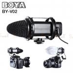 Microphone BOYA BY-V02 Compact Stereo