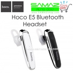 ราคาพิเศษ หูฟังบูลธูท HOCO E5 Bluetooth เรียบหรู เสียงดังฟังชัด เชื่อมต่อสองเครื่อง ระบบตัดเสียงรบกวน แบตทน น้ำหนักเบา ฟังเพลงได้ด้วย