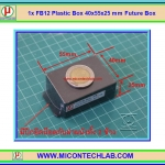 1x FB12 Plastic Box 40x55x25 mm Future Box
