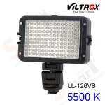 VILTROX LL-126VB LED Light 5500 K for Camcorder Camera