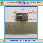 1x Supper mini 3A DC-DC Converter Step Down (buck) Module