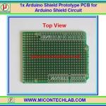 1x Arduino UNO Shield Prototype PCB for Arduino Shield Circuit