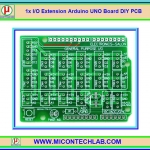 1x I/O Extension Arduino UNO Board DIY PCB