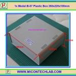 1x Model:B-07 Plastic Box 260x220x100mm