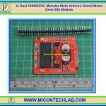 1x Dual VNH2SP30 Monster Moto Arduino Shield Motor Drive 30A Module