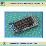 1x Arduino MEGA2560 Sensor Shield V2.0 MEGA Shield V2
