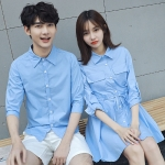 เสื้อคู่ เสื้อคู่รัก ชุดคู่รัก เสื้อคู่รักเกาหลี เสื้อคู่แฟชั่น AA012