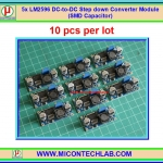 10x LM2596 DC-to-DC Step down Converter Module (SMD Capacitor)