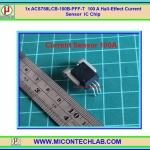 1x ACS758 100A Hall Effect Current Sensor ACS758 100 A IC Chip
