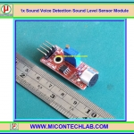 1x Sound Voice Detection Sound Level Sensor Module
