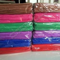 ขายส่ง ผ้าเช็ดผมนาโน สีพื้น (แบบบาง) 30*70 cm ส่ง 10 บาท