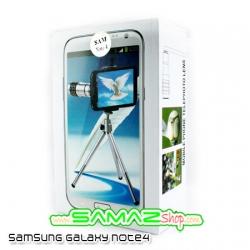 ราคาพิเศษ เลนส์เสริม เทเลซุม 12เท่า สำหรับ Samsung galaxy note 4 พร้อมเคส ขาตั้ง มือถือ Len zoom 12x ใช้งานง่ายพกพาสะดวกสุดๆ