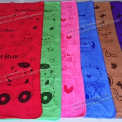 ขายส่ง ผ้าเช็ดตัวนาโน พิมพ์ลาย แบบหนา 70*140 cm ส่ง 49 บาท