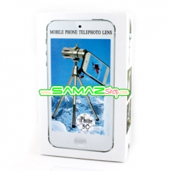 ปรับราคาใหม่ เลนส์เสริมเทเล ซูม 12x สำหรับ iPhone 5C พร้อมเคส ขาตั้ง มือถือ Len zoom 12x ใช้งานง่ายพกพาสะดวกสุดๆ