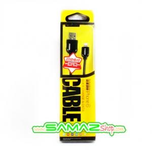 Remax data link & power cable สายชารจ์ สำหรับ IPhone 5 IPhone 6 ชาร์จเร็วทันใจ ดีไซด์สวยงาม ทนทานตามแบบฉบับ Remax ใช้ได้ทั้ง Ipad3/ 4/ mini