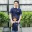 เสื้อครอบครัว ชุดครอบครัว พ่อ แม่ ลูก 💗Set Basic Blue 💗 thumbnail 2