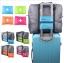 (สีส้ม) กระเป๋าเดินทางพับเก็บได้ สามารถพ่วงกับกระเป๋าเดินทางรถเข็นได้ ขนาด 45 x 20 x 34 CM ความจุ 20 ลิตร thumbnail 2