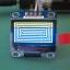 "1x จอโอแอลอีดี สีเหลืองน้ำเงิน OLED LCD 128x64 0.96"" เชื่อมต่อแบบ I2C thumbnail 5"